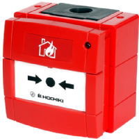 HOCHIKI HCP-WM Marine Approved Weatherproof Call Point Red